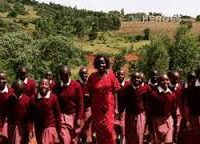 Kakenya Ntaiya and Students