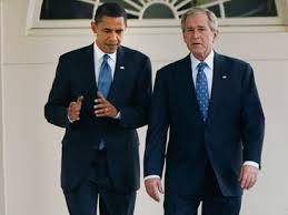 Presidents Obama & Bush