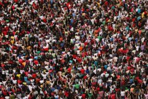 masses of people
