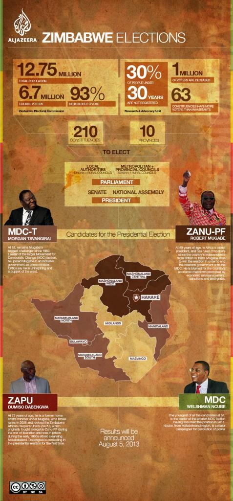 Zimbabwe Election Infographic
