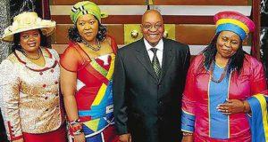 Zuma and Wives