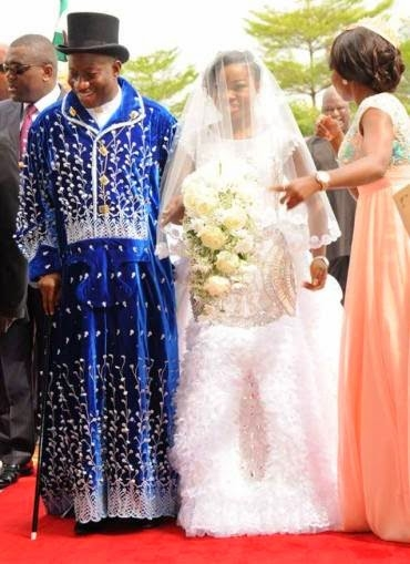 Traditional Wedding Gift From Mother To Daughter : The Wedding of President Goodluck Jonathans Daughter - Global Black ...