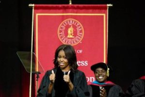 Michelle Obama at Tuskegee University
