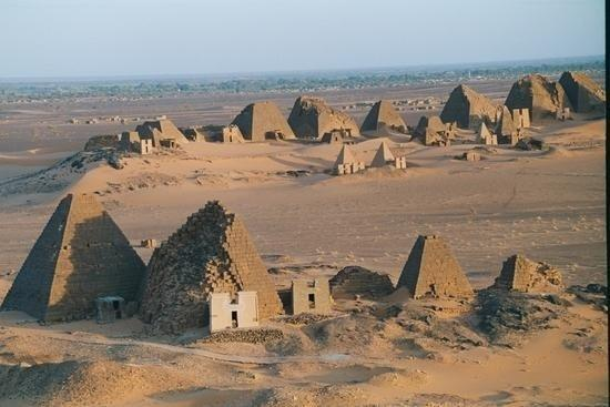 Pyramids in the Sudan
