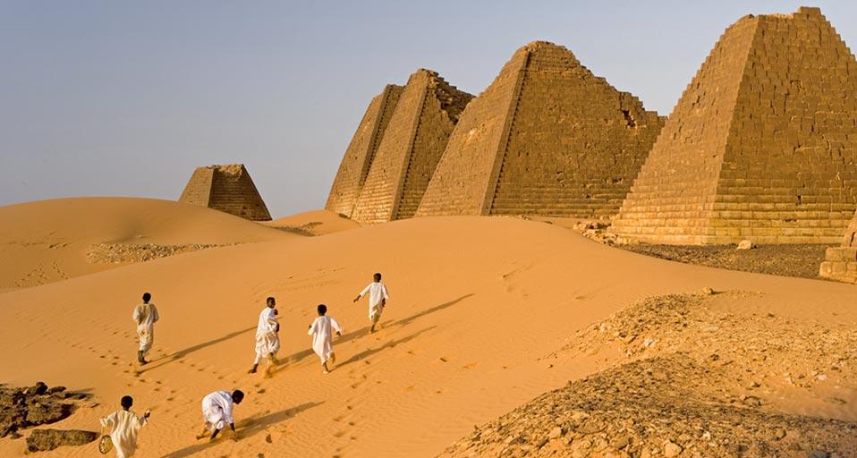 Nubian Meroe Pyramids