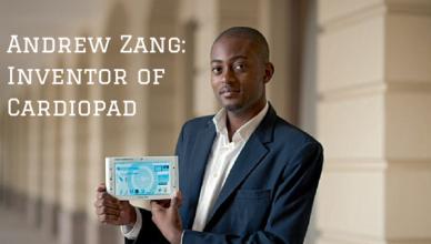 Andrew ZangInventor of Cardiopad