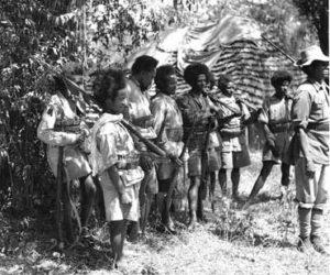 Ethiopian Troops WW2
