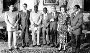 African Nationalist Leaders & Margaret Thatcher