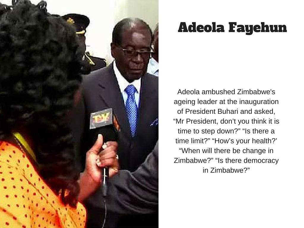 Adeola Fayehun slide