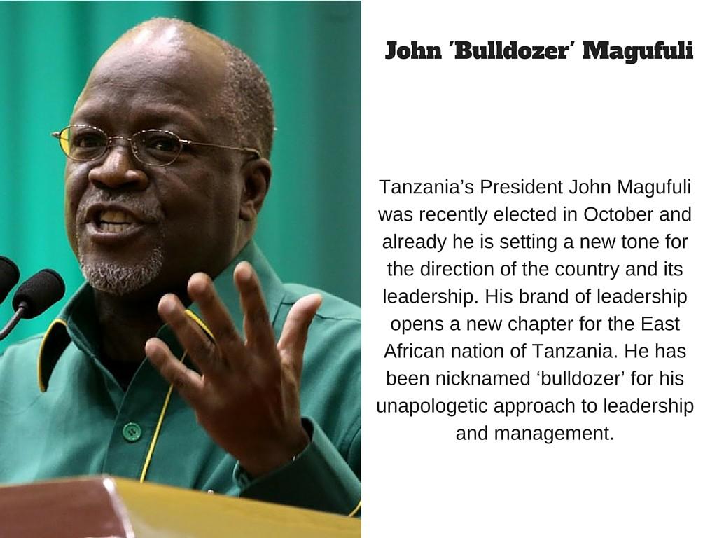 John 'Bulldozer' Magufuli
