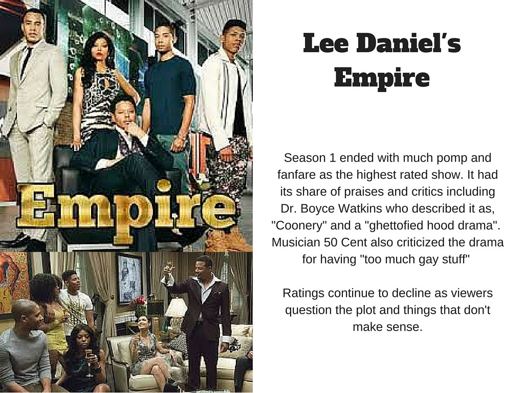 Lee Daniel's Empire