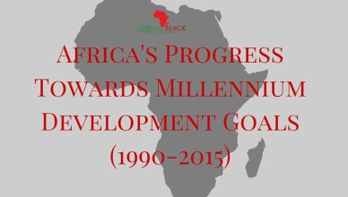 Africa's Progress Towards Millennium Development Goals (1990-2015) banner