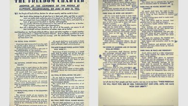 South charter africa freedom pdf