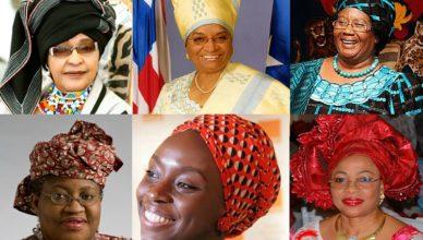 famous african women in headgear