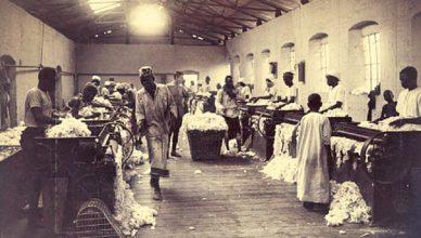 Cotton gin banner